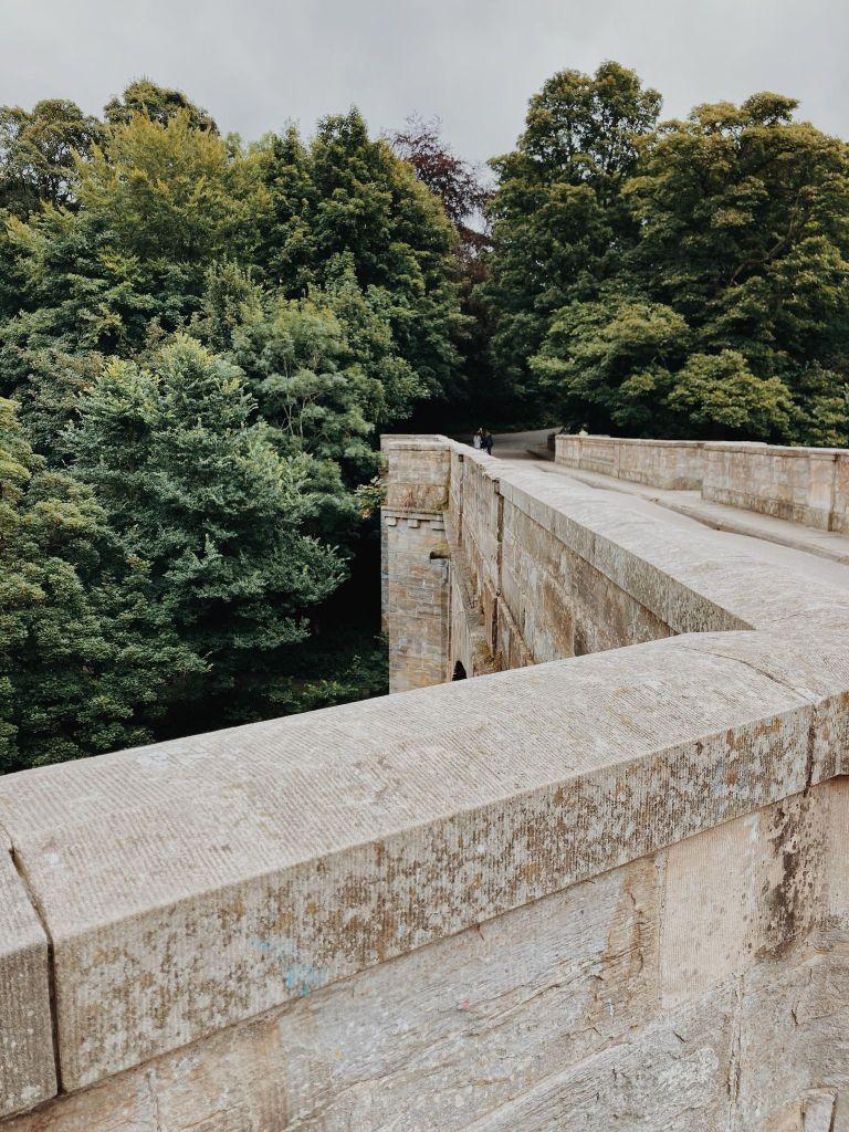 Stonework of Prebends Bridge, Durham